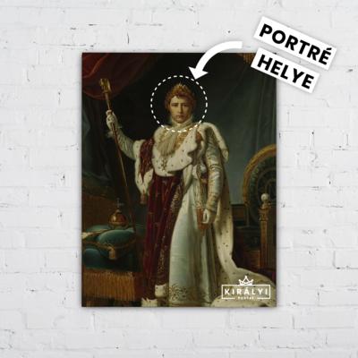 Bonaparte Császár - Egyedi Portré