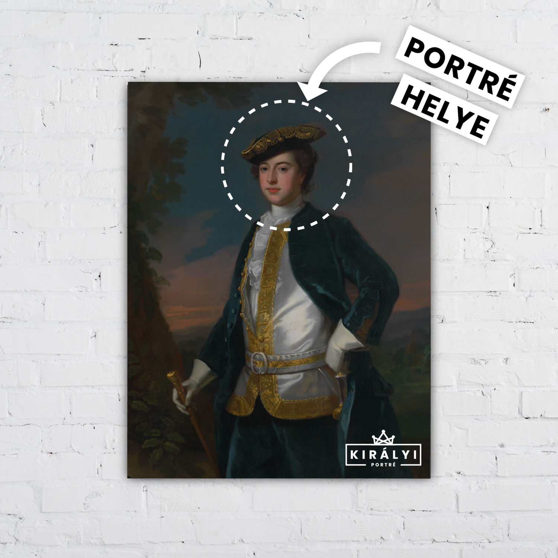 Dalmáciai Főherceg- Egyedi Portré