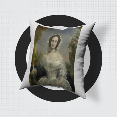 Arisztokrata Hölgy - Egyedi Párna