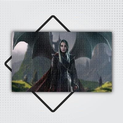 A Sárkánykirálynő - Egyedi Puzzle