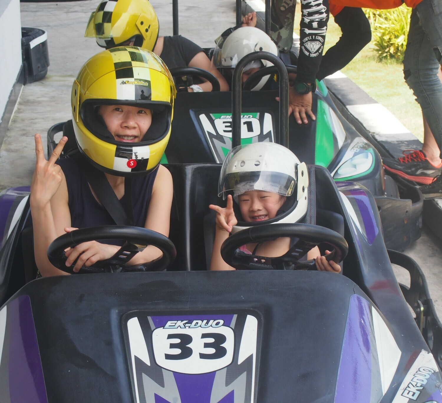 [5% OFF] 双座卡丁车 (1次) - Pattaya 2 seater kart (1 race)