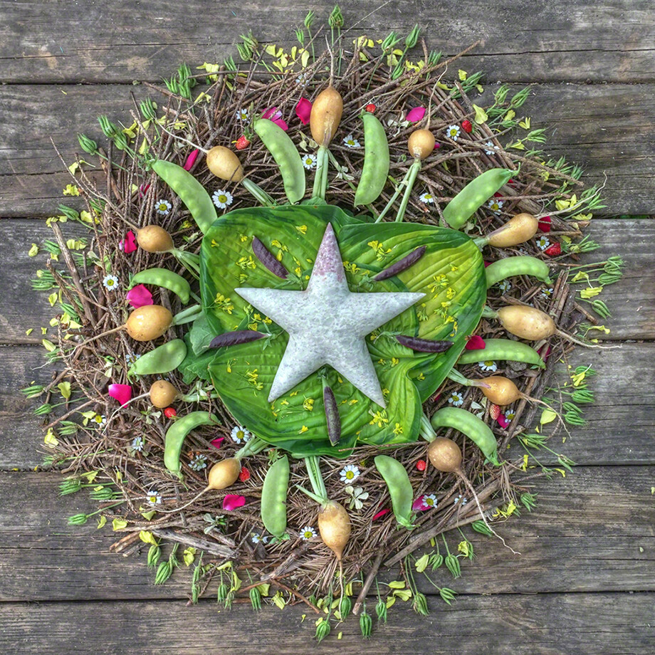 Summer Star with Soapstone