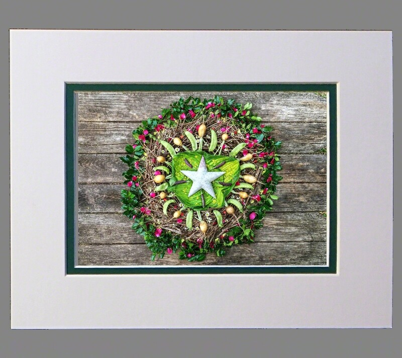 Winter Star with Soapstone 8