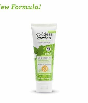 Goddess Garden Daily Natural Mineral Sunscreen