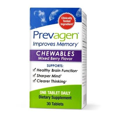 PREVAGEN® CHEWABLES - MIXED BERRY