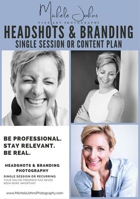 Professional Headshot & Branding Photo Shoot Project