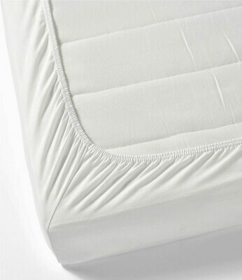 100% cotton fitted bed sheets