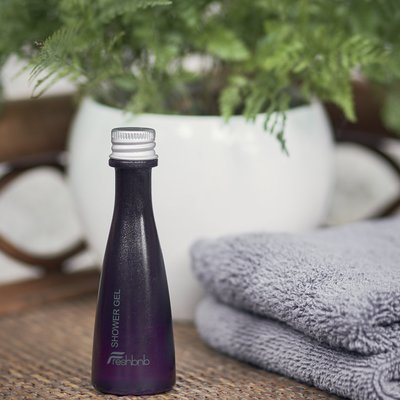 Pack of 100 shower gel guest bottle - 40ml (1.35 0z)