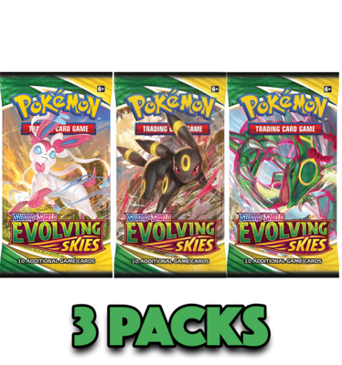 Evolving Skies (3 Pack Bundle)