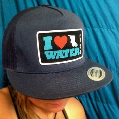 I <3 BC Water Hat