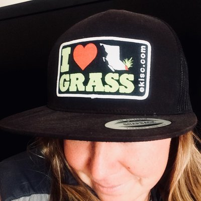I <3 BC Grass Hat