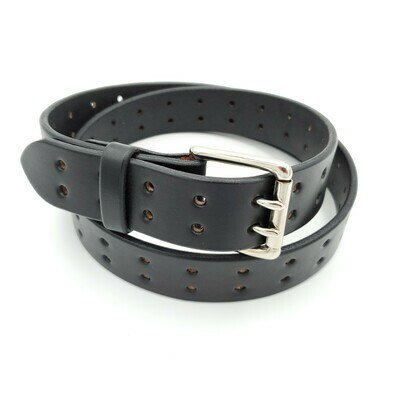Double Prong Belt, Black