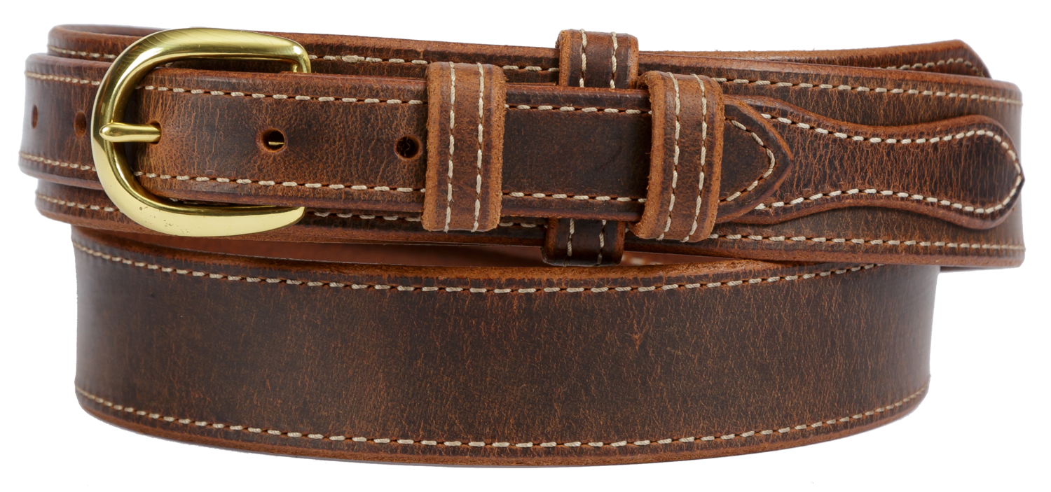 Ranger Belt, Great Gun Belt, Distressed Brown