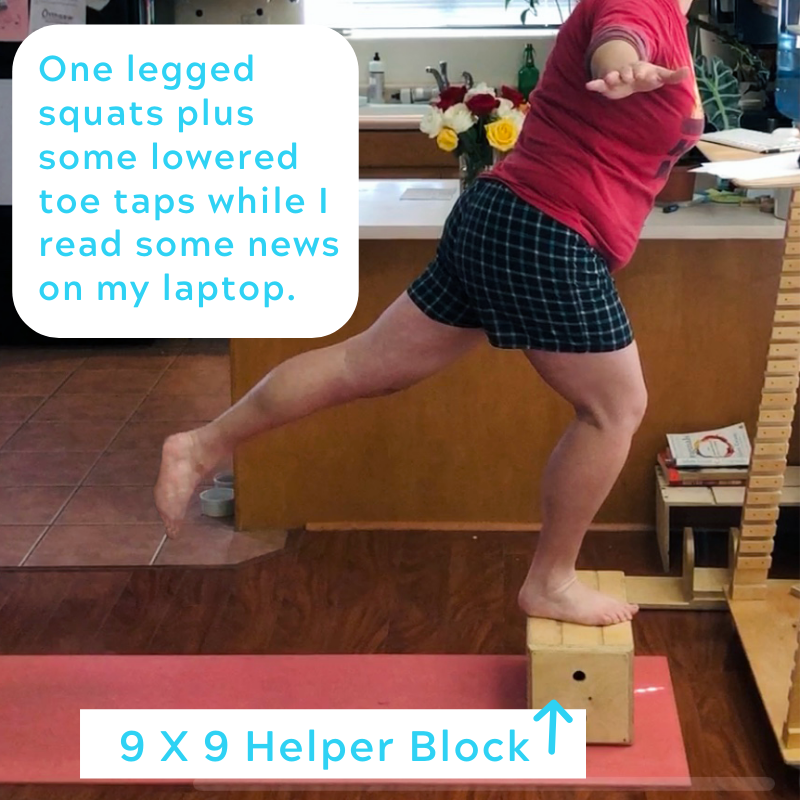 The 9x9 Helper Block