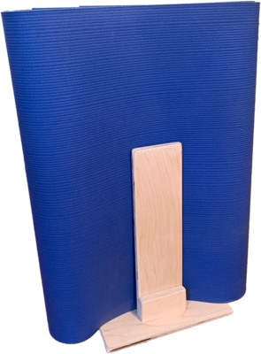 Upright Yoga Mat Stand - Easy Access
