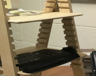 Extra Caterpillar Desk Shelf