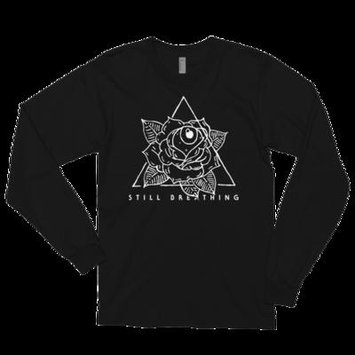 STILL BREATHING-Rose Pyramid Long Sleeve