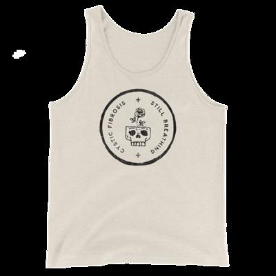 STILL BREATHING-CF Skull Badge Unisex Tank