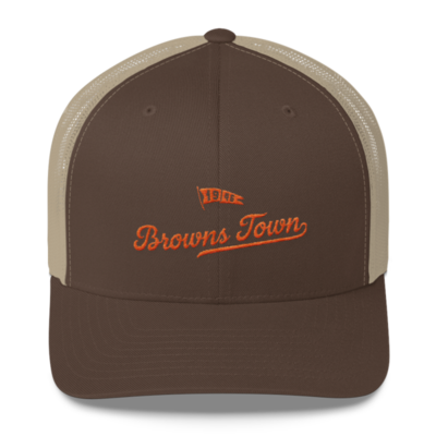 THE LAND-Browns Town Trucker Cap