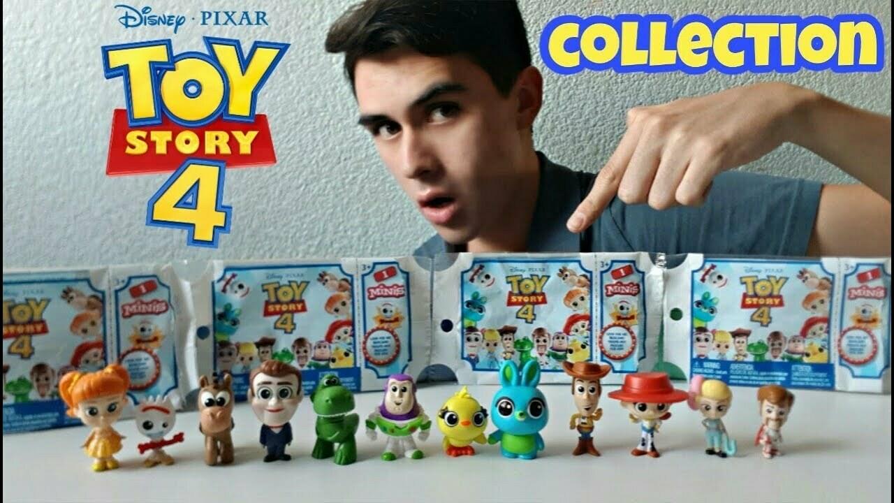 Toy Story 4 - Surtido Mini Figuras de la Pelicula