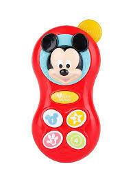 Celular Divertido de Minnie y Mickey
