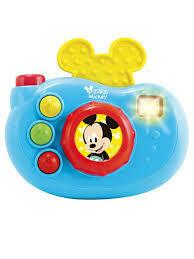 Camara con Luces y Sonidos de Minnie y Mickey
