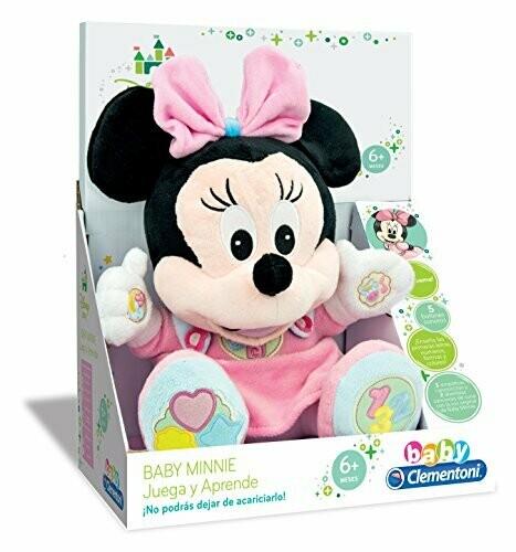 Peluche de Minnie y Mickey Bebe Juega y Aprende Conmigo