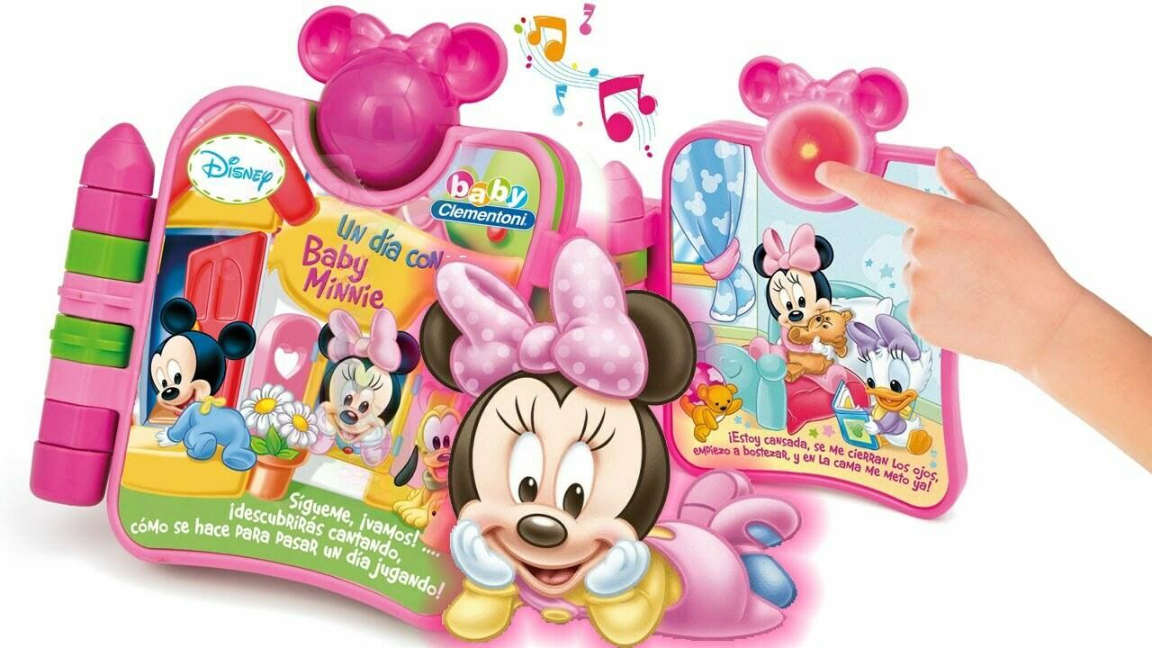 Libro Interactivo de Minnie