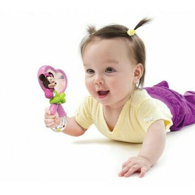 Minnie sonajero con espejo