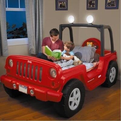 Little Tikes - Cama en Forma de Jeep