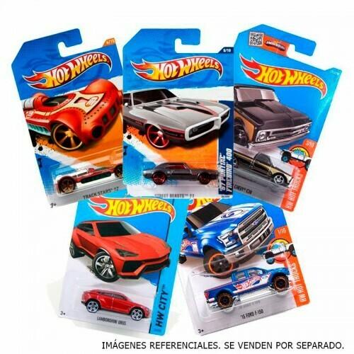 Hot Wheels autos Basicos