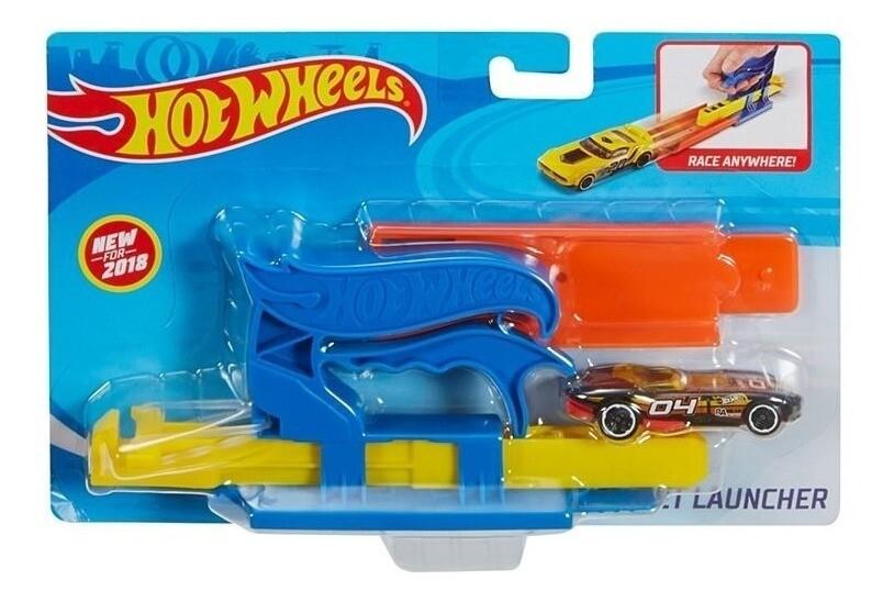 Hot Wheels - Lanzador De Bolsillo