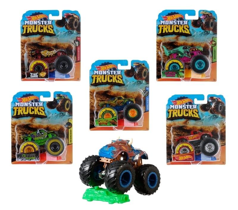 Hot Wheels Monster Trucks Surtido