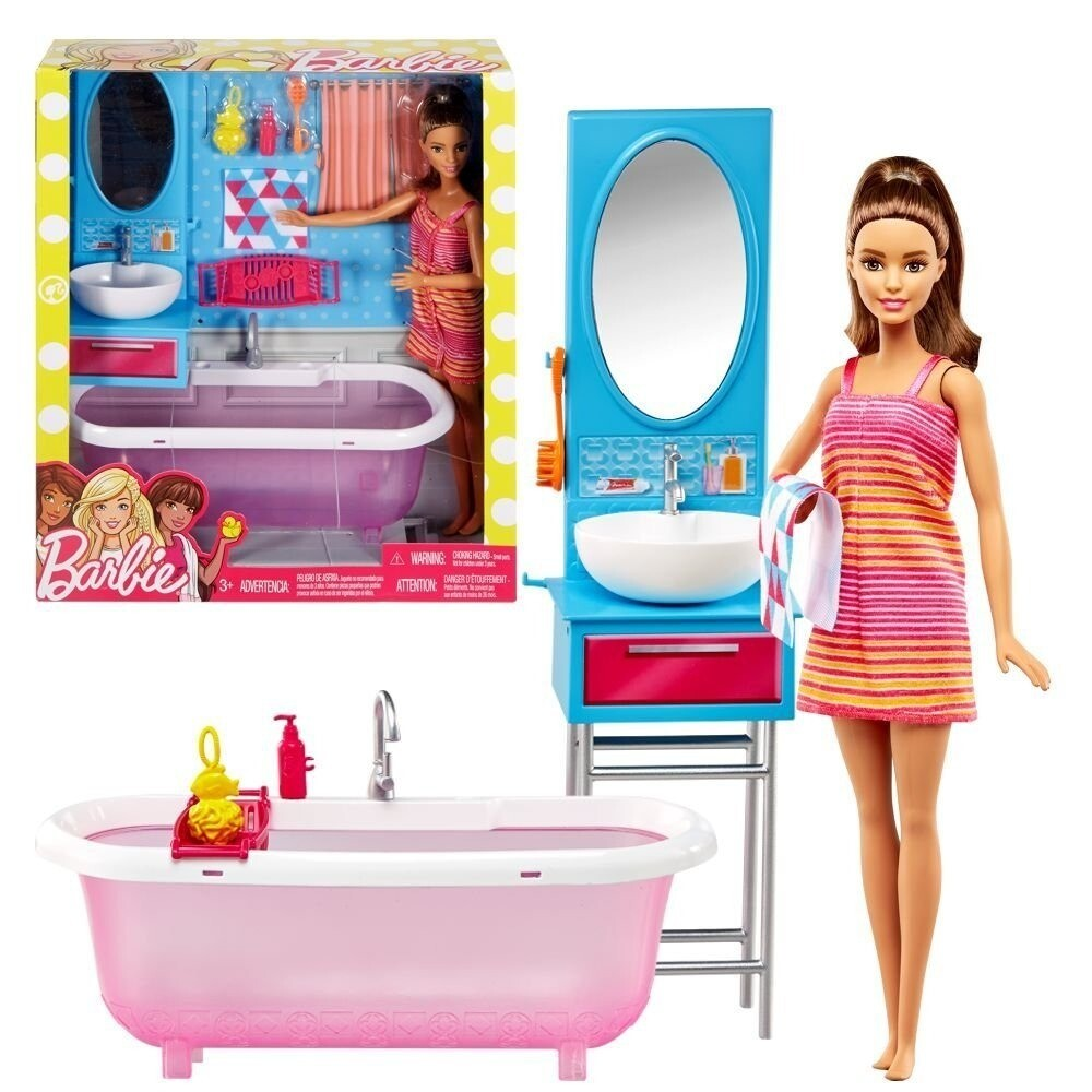 Barbie Muñeca y Muebles