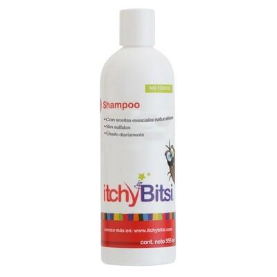 Itchy Bitsi - Shampoo para prevenir los piojos 355 ml