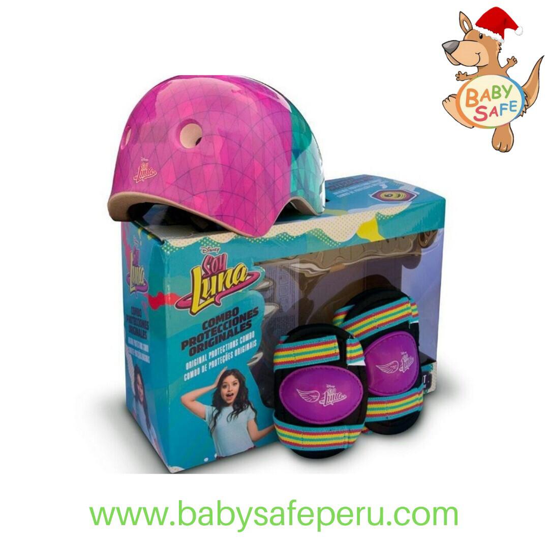 Scooter Soy Luna y Kit de Protección