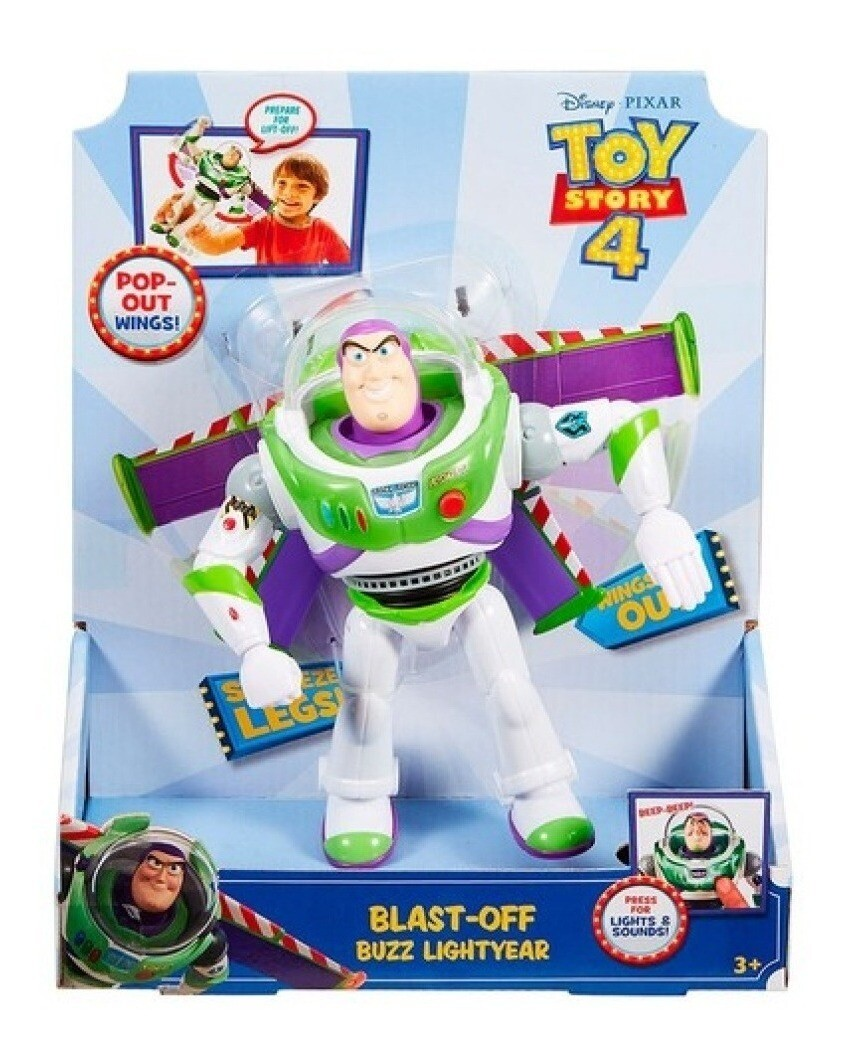 Toy Story - Buzz Vuelo Espacial
