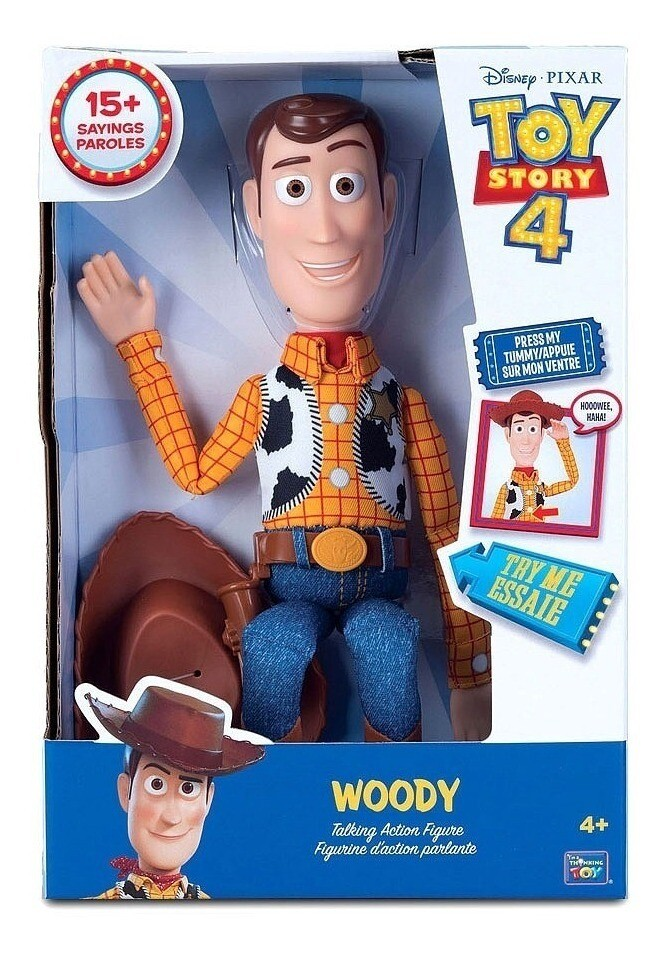 Toy Story - Woody Parlante Figura