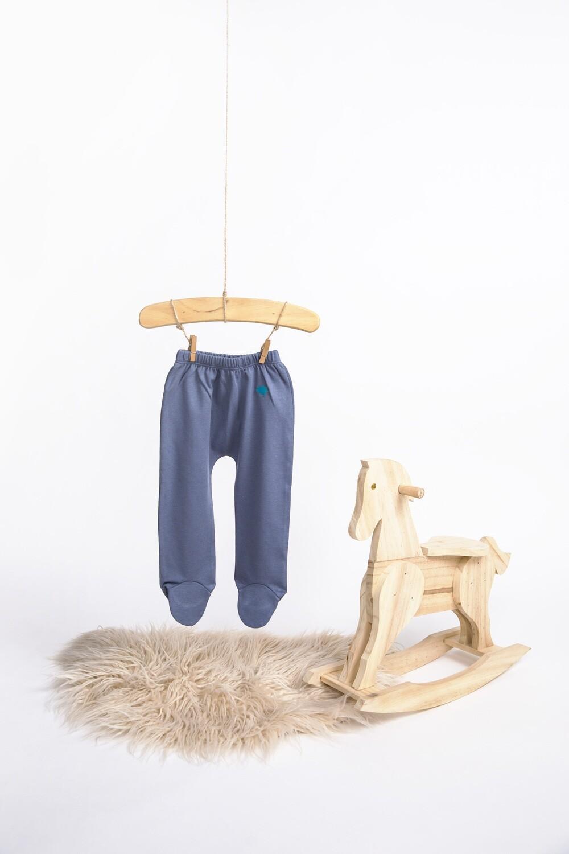 Pantalon con Pie Vintage Indigo