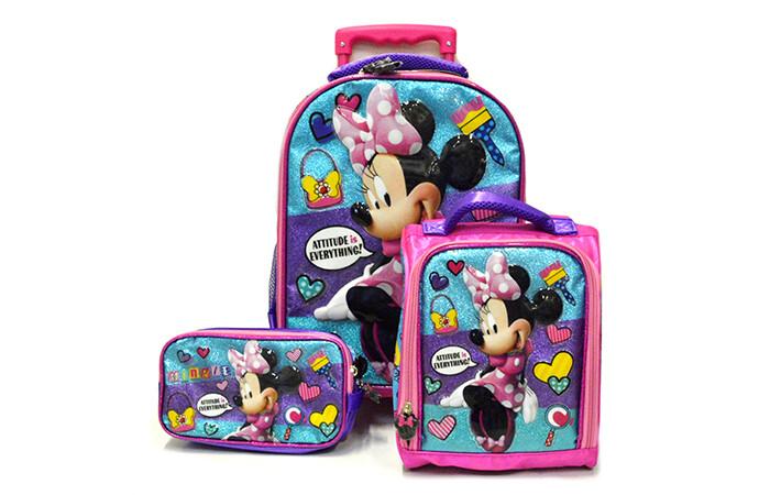 Set de Mochila Minnie Mouse