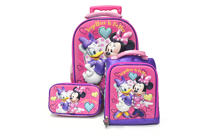 Set de Mochila Minnie y Daysi