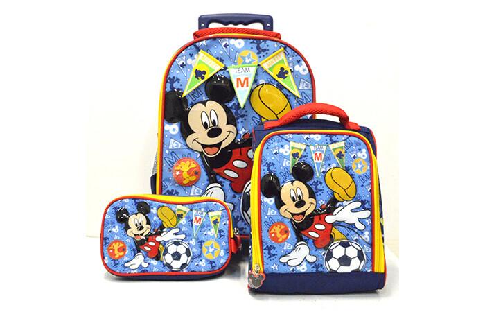 Set de Mochila de Mickey Mouse
