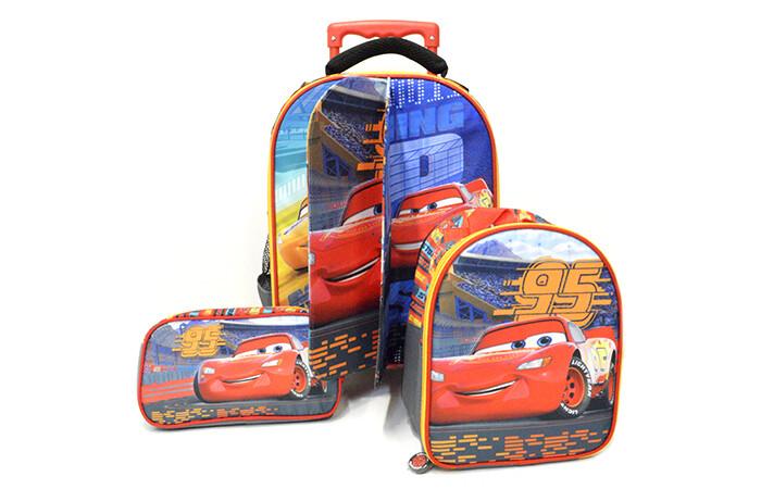 Set de Mochila Cars