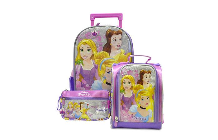 Set de Mochila Princesas