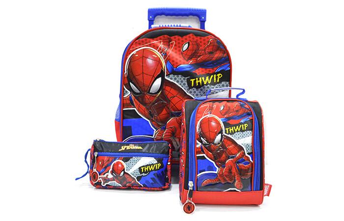 Set Mochila Spiderman