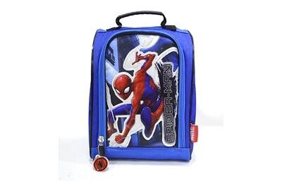 Lonchera de Spiderman color azul