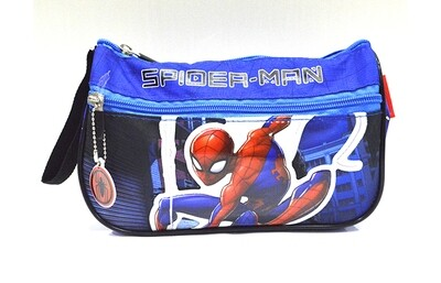Spiderman Cartuchera Azul
