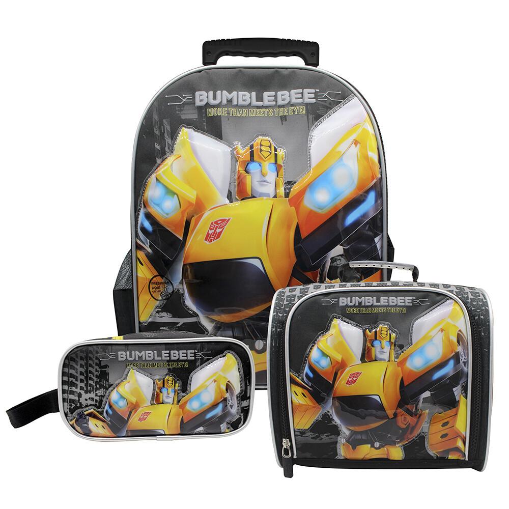Set de Mochila de los Transformers