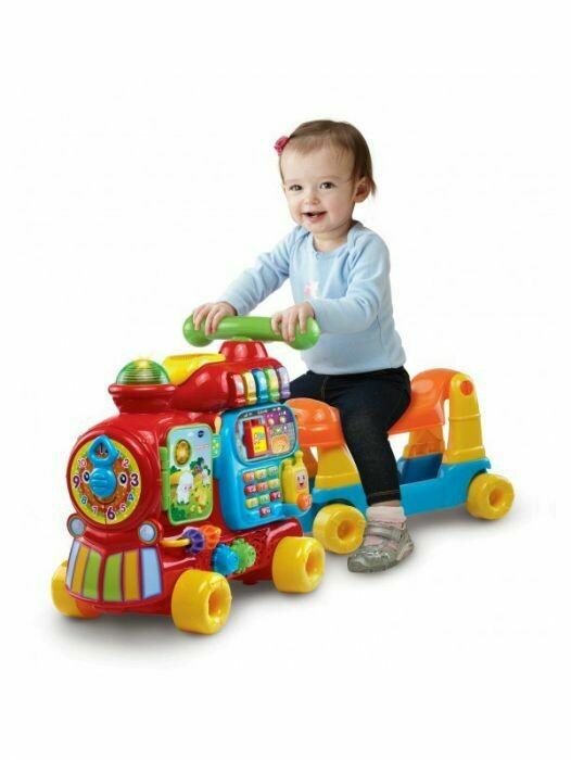 VTech - Andador Maxi Tren 5 En 1 Para Bebes