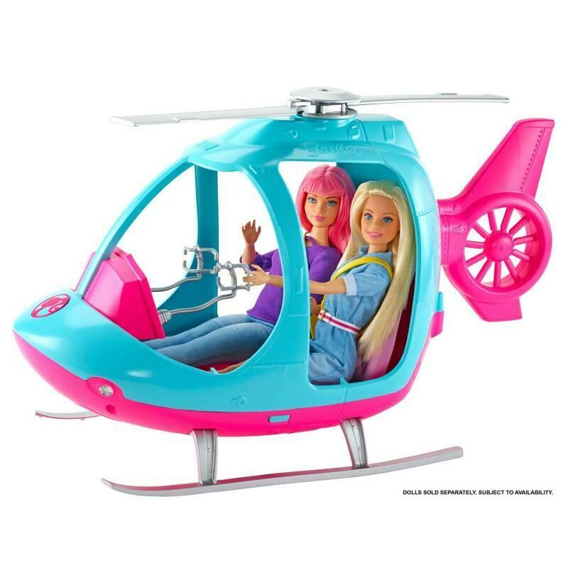 Barbie - Helicoptero Explora y Descubre